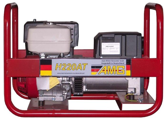бензиновая электростанция amg h220at