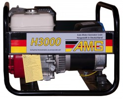 бензиновая электростанция amg h 3000
