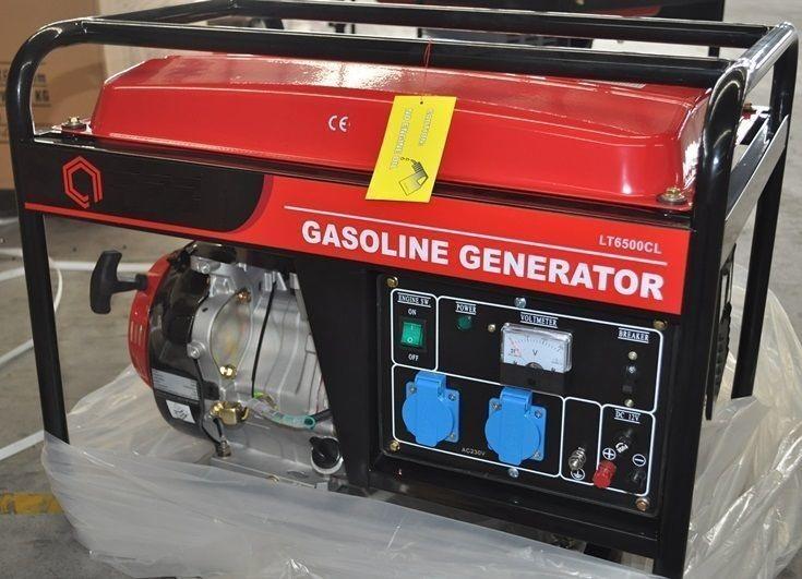 бензиновая электростанция amperos lt6500cl