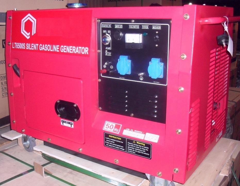 бензиновая электростанция amperos lt6500s