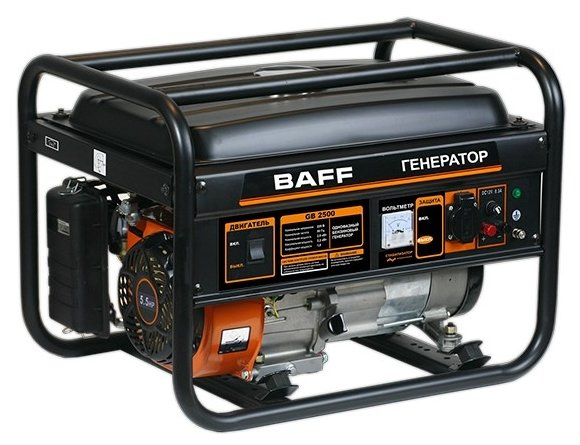 бензиновая электростанция baff gb 2500