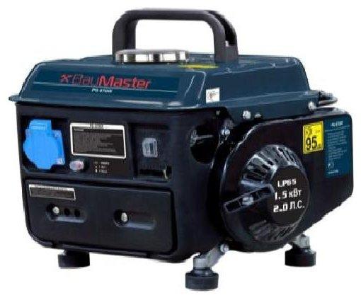 бензиновая электростанция baumaster pg-8709x