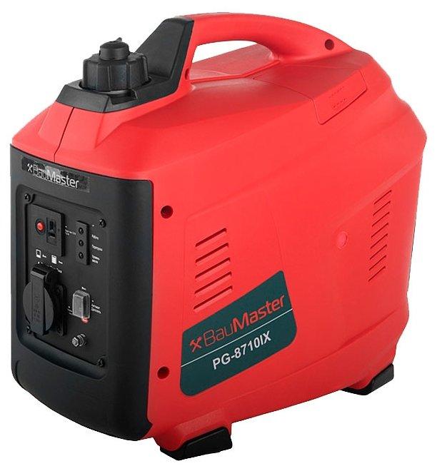 бензиновая электростанция baumaster pg-8710ix