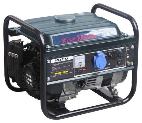 бензиновая электростанция baumaster pg-8715х