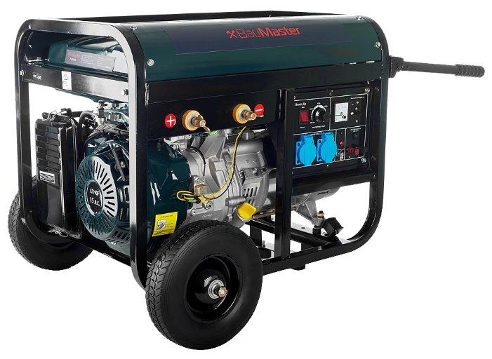 бензиновая электростанция baumaster pg-8719wx