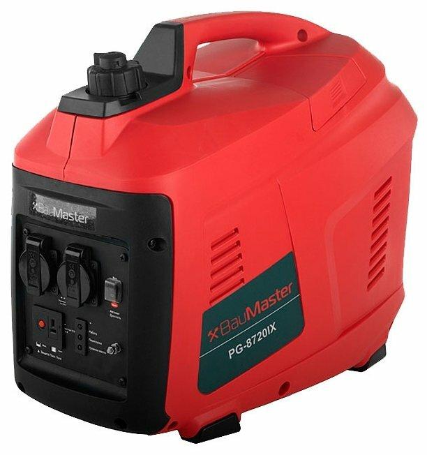 бензиновая электростанция baumaster pg-8720ix