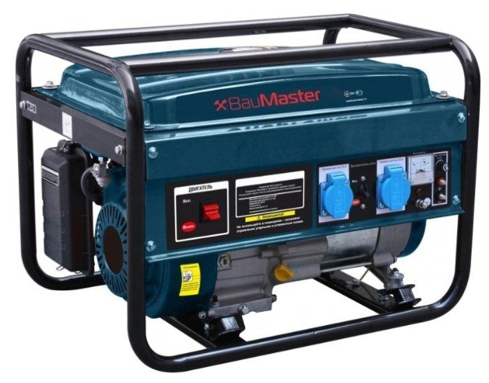 бензиновая электростанция baumaster pg-87251x