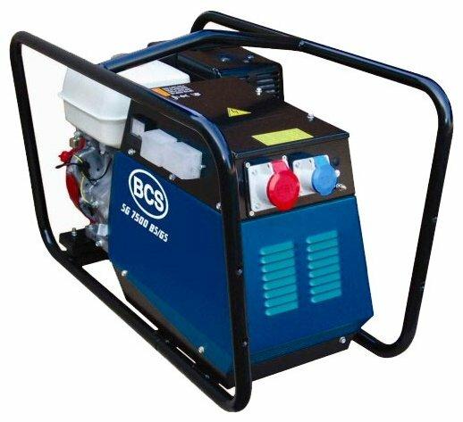 бензиновая электростанция bcs sg 7500 bs/gs