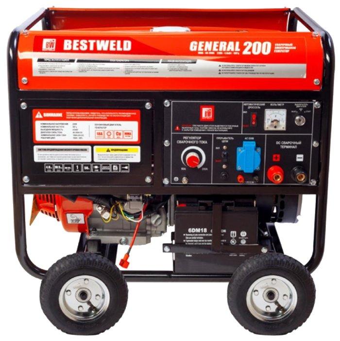 бензиновая электростанция bestweld general 200