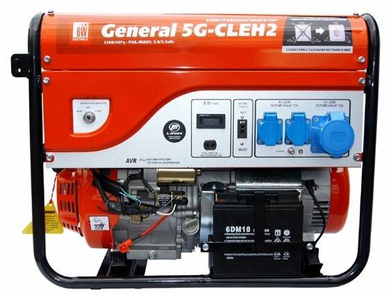 бензиновая электростанция bestweld general 5g-cleh2