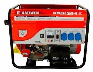 бензиновая электростанция bestweld general 5gf-4