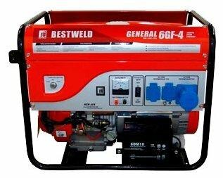 бензиновая электростанция bestweld general 6gf-4