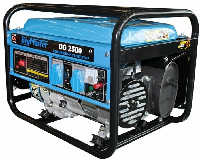 бензиновая электростанция bigmaster gg 2500