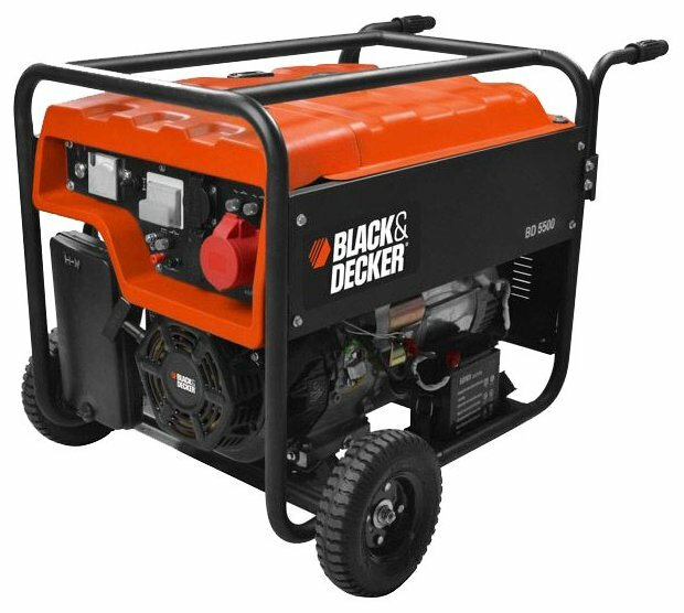 бензиновая электростанция black+decker bd 5500