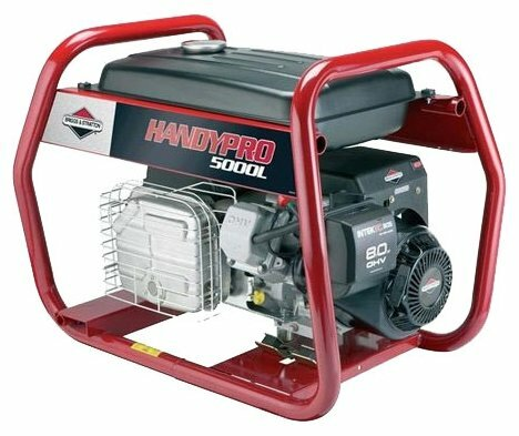 бензиновая электростанция briggs and stratton handypro 5000l