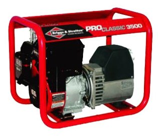 бензиновая электростанция briggs and stratton proclassic 3500