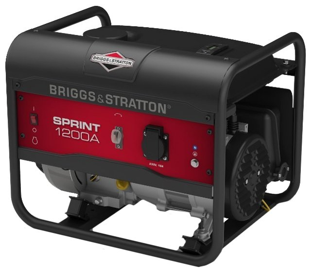 бензиновая электростанция briggs and stratton sprint 1200