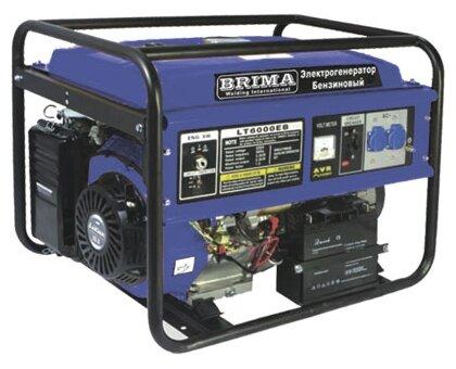 бензиновая электростанция brima lt6500eb