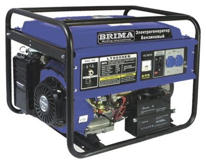 бензиновая электростанция brima lt8000 b