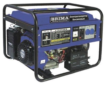 бензиновая электростанция brima lt8000 eb