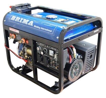 бензиновая электростанция brima ltw-190b