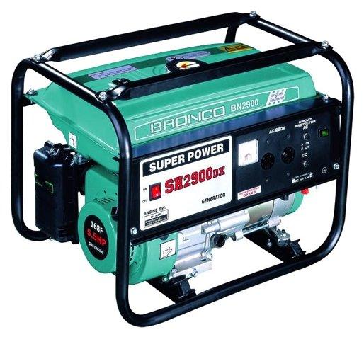 бензиновая электростанция bronco bn2900