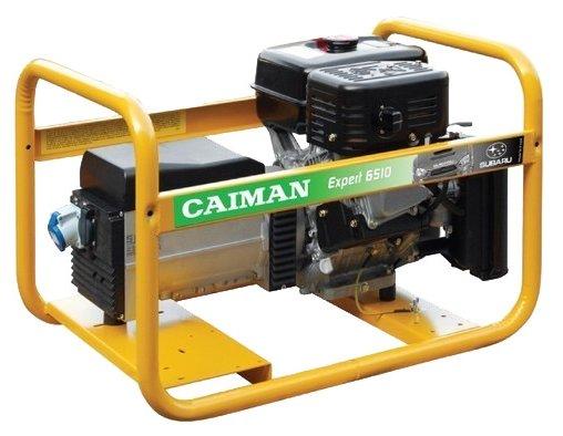 бензиновая электростанция caiman expert 6510x