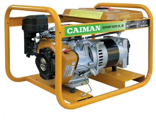 бензиновая электростанция caiman explorer 5010xl12
