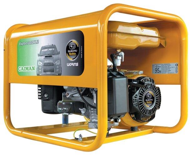 бензиновая электростанция caiman explorer 6010xl12