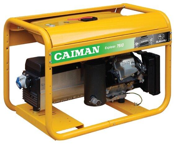 бензиновая электростанция caiman explorer 7510xl27