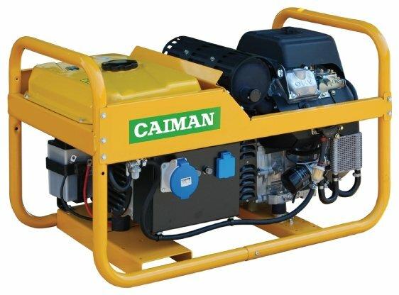 бензиновая электростанция caiman leader 10500xl21 de