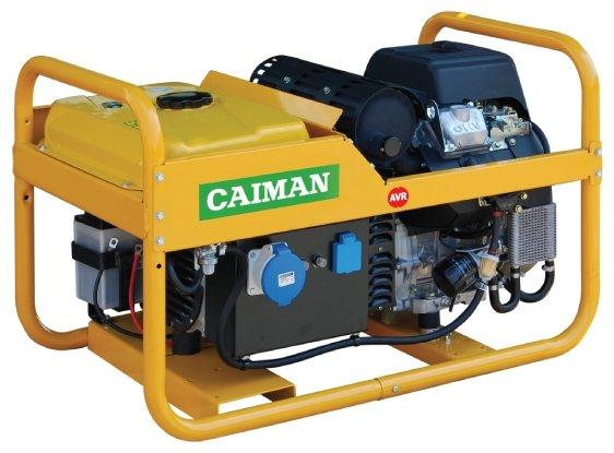 бензиновая электростанция caiman leader 12500xl21 de avr