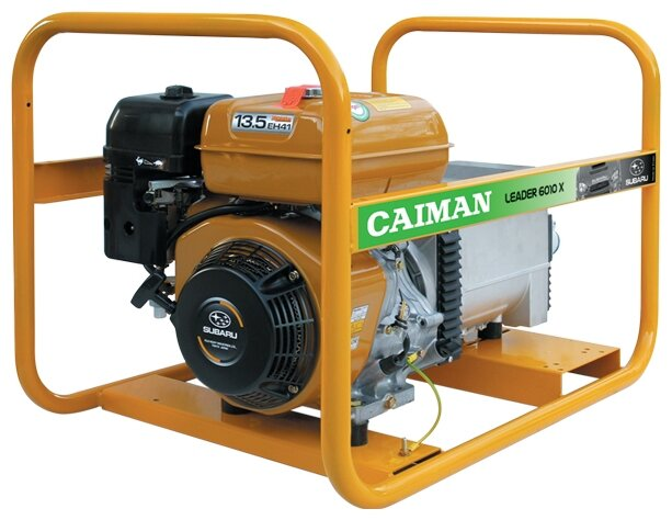бензиновая электростанция caiman leader 6010x
