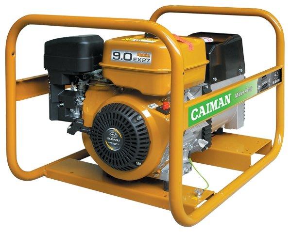 бензиновая электростанция caiman mixte 4500