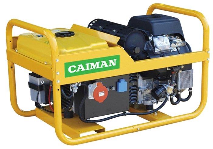 бензиновая электростанция caiman tristar 12500xl21 det