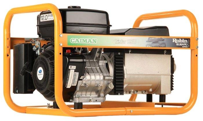 бензиновая электростанция caiman tristar 6510ex