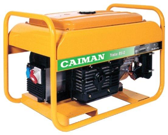 бензиновая электростанция caiman tristar 8510mtxl27