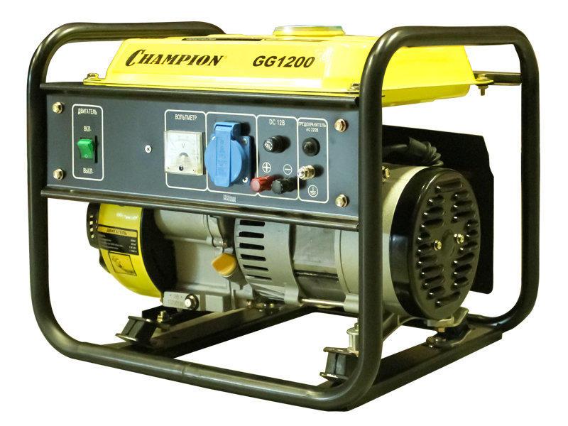 бензиновая электростанция champion gg1200