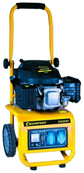 бензиновая электростанция champion gg2200