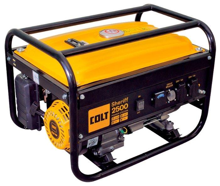 бензиновая электростанция colt sheriff 2500