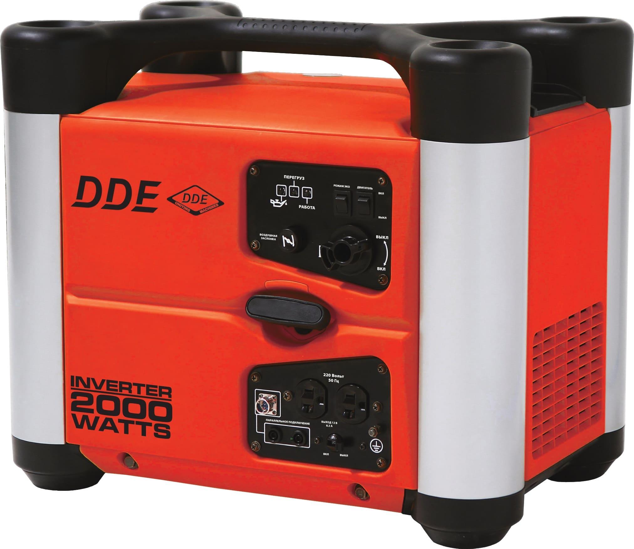 бензиновая электростанция dde dpg2051i