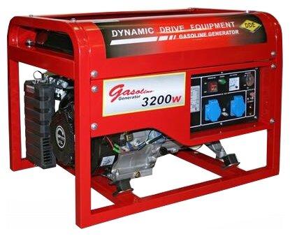 бензиновая электростанция dde dpg4851