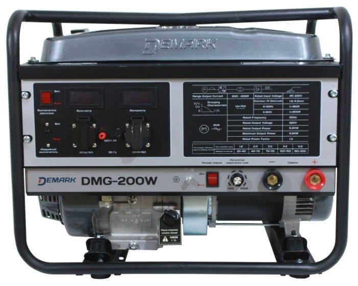 бензиновая электростанция demark dmg-200w