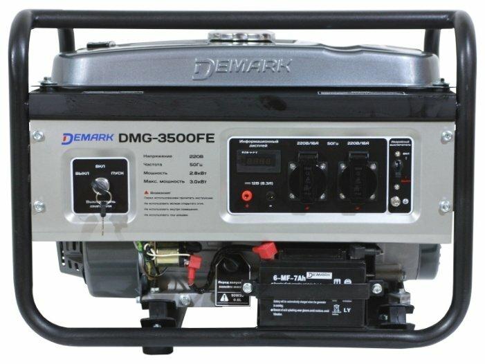 бензиновая электростанция demark dmg-3500fe
