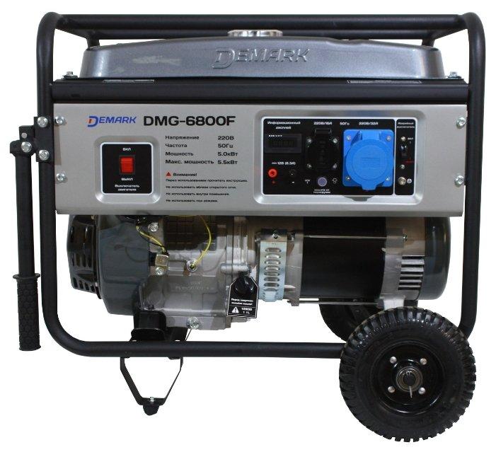 бензиновая электростанция demark dmg-6800f