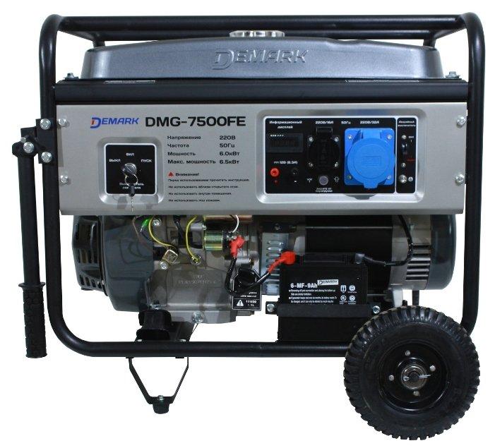 бензиновая электростанция demark dmg-7500fe