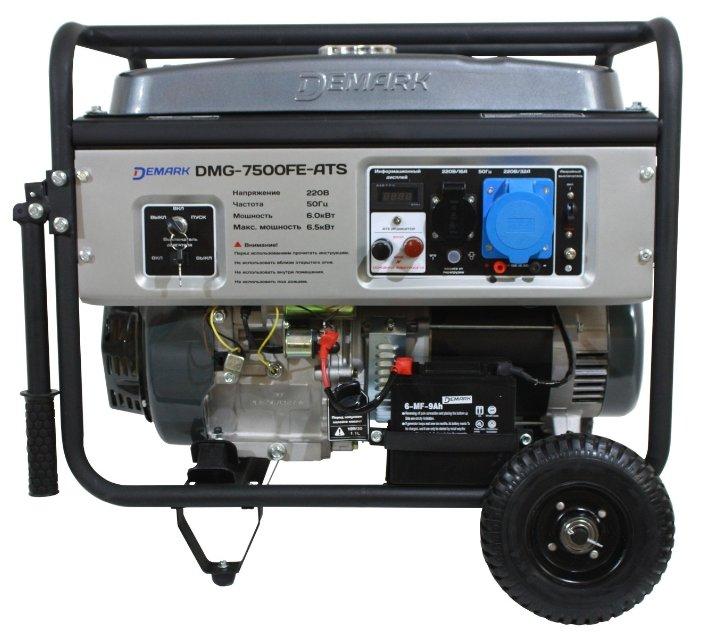 бензиновая электростанция demark dmg-7500fe ats