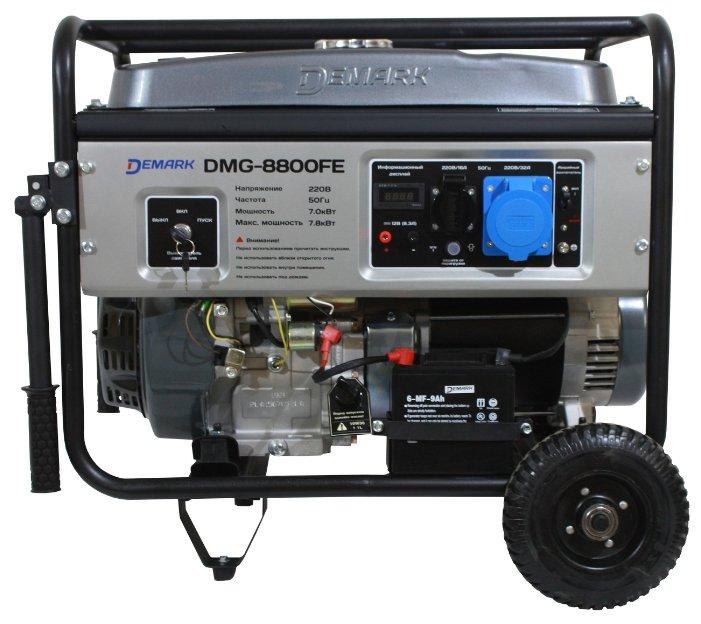 бензиновая электростанция demark dmg-8800fe