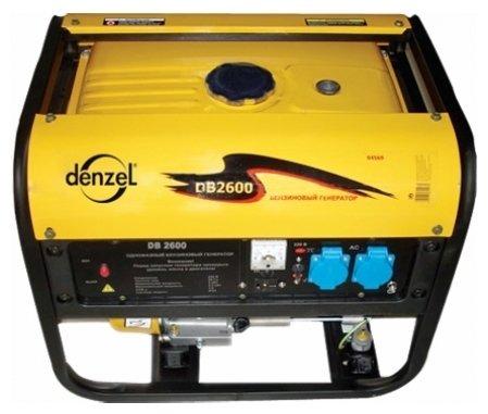 бензиновая электростанция denzel db2600