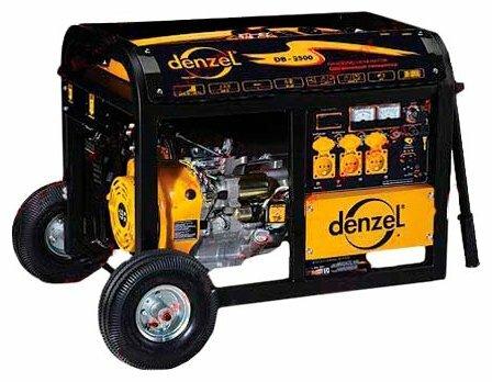 бензиновая электростанция denzel db5500е